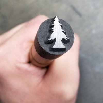 a tree stamp