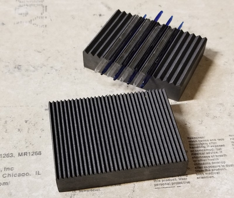 v groove graphite plates with glass