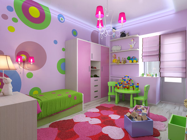 11 Fun Ways to Paint a Kids Bedroom  GNH Lumber Co