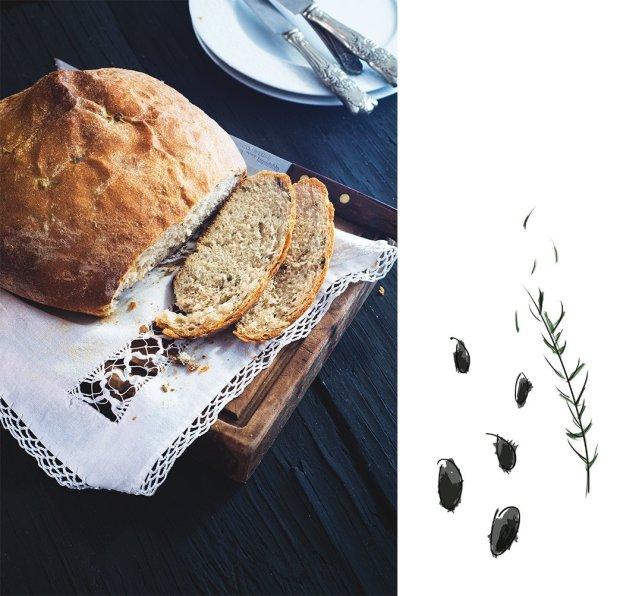 olive bread   gnom-gnom.com
