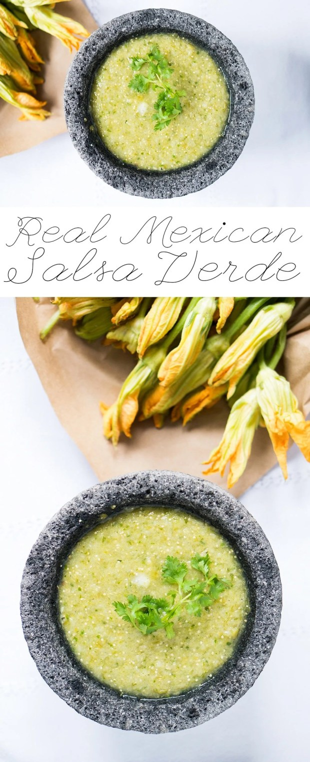 Real Mexican Salsa Verde | Vegan, Keto, Gluten Free