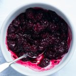 15-Minute Blackberry Relish ? Gluten Free & Vegan