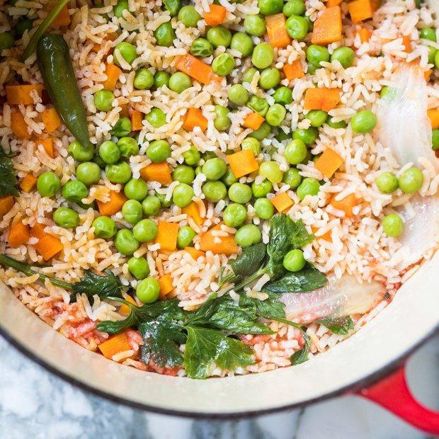 1-Pot Mexican Rice ???#glutenfree #vegan #rice