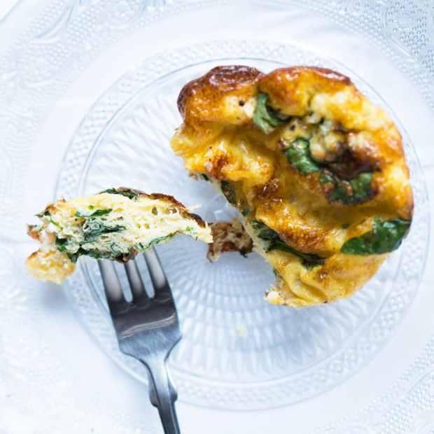 Breakfast Egg Soufflé Cups ?gluten free, keto & paleo
