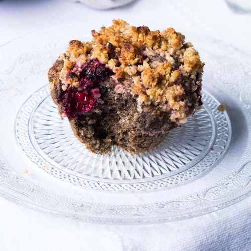 Gluten Free Buckwheat Muffins