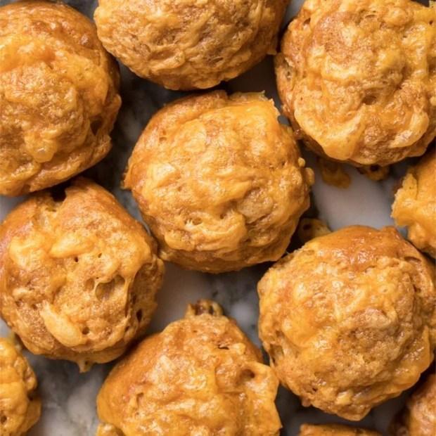 Gluten Free, Low Carb & Keto Cheese Puffs (i.e. Gougères) 🧀 #keto #lowcarb #glutenfree #healthyrecipes #ketodiet