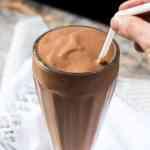 Bulletproof Breakfast Chocolate Milkshake 🍫 gluten free, keto & paleo