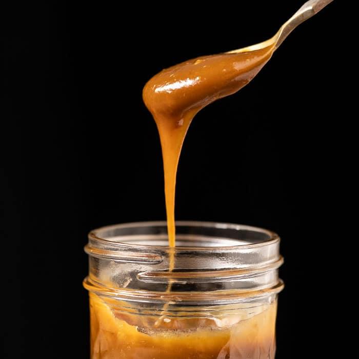 sugar free keto caramel