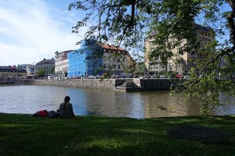 View of Gothenburg (Photo by Jakub Steiner.)