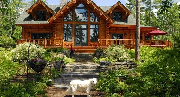 denmark lake house - gnome landscape