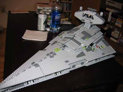 Lego Star Destroyer: The Power of Props