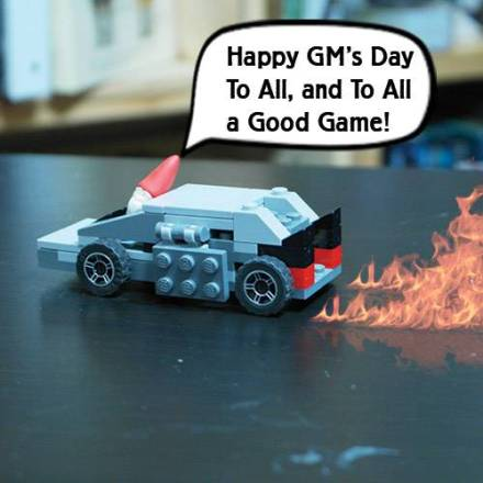 Back To The Future For GM's Day