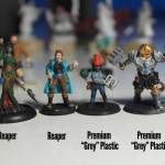 Updated Hands On With Heroforge Premium Grey Plastic Review and Giveaway