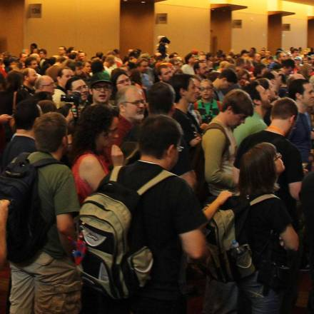 Social Anxiety at Large Conventions