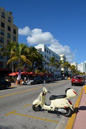 Collins Ave in Miami Beach
