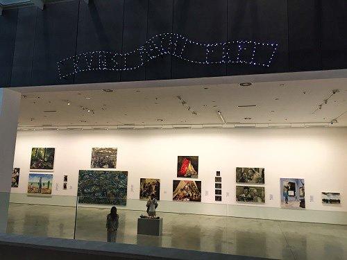 """Art will set you free,"" Museum of Contemporary Art in Krakow (MOCAK)."