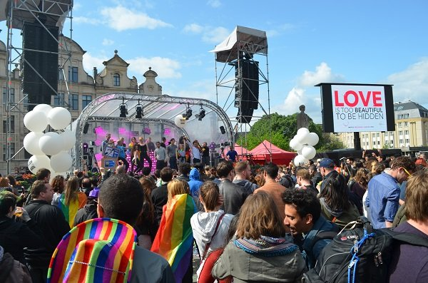 Belgian Pride 2016 in Brussels