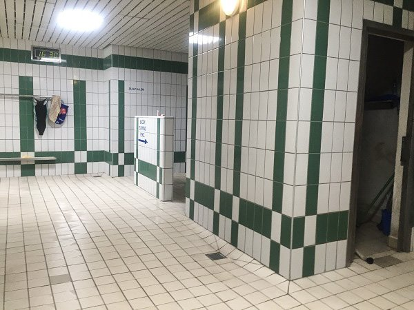 Podolí showers