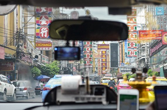 Bangkok cab