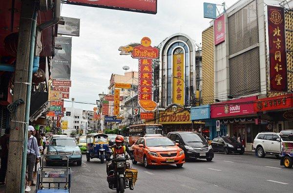 Brangkok traffic