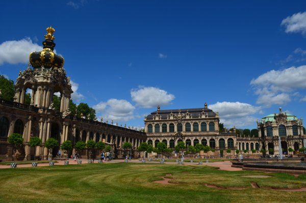 dresden itinerary - zwinger