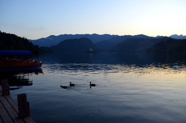 visiting lake bled
