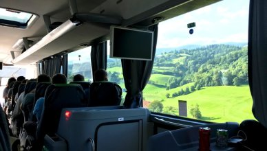 travel by bus in europe