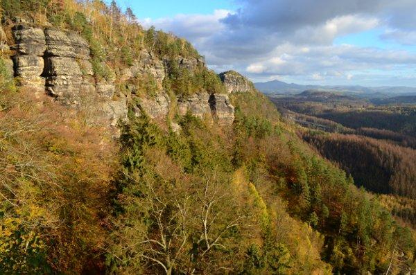 bohemian switzerland views