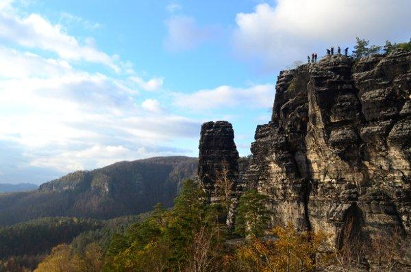 bohemian switzerland peak