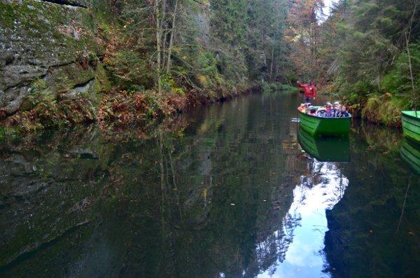 bohemian switzerland boat ride