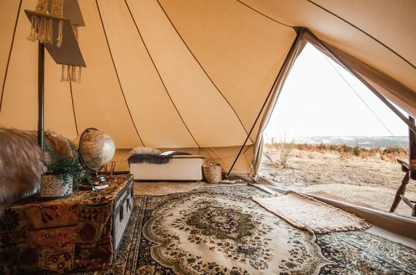 glamping airbnb