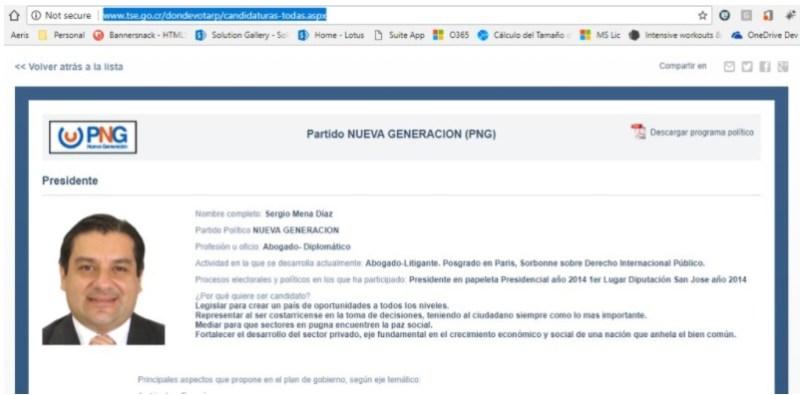 Ficha de Candidato