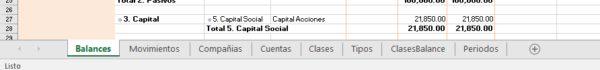 Excel Tabs