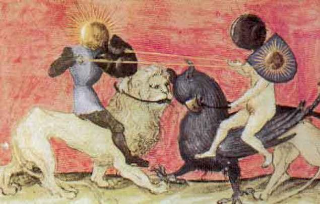 A Santa Alquimia resume-se no sábio equilíbrio entre as forças solares e lunares em nosso interior, entre o Sol e a Lua alquímicos