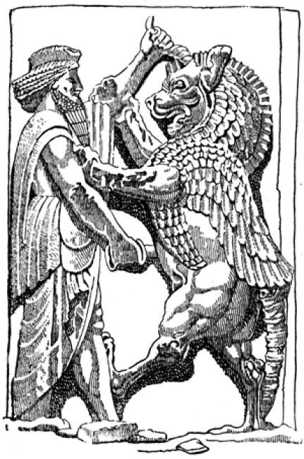 No Zoroastrismo, a eterna luta entre Ahura Mazda, o Deus da Luz, o Cristo Cósmico, e Angra Mainyu, ou Ahrimã, o Anticristo