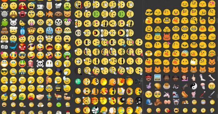 Emojis of Whatsapp plus
