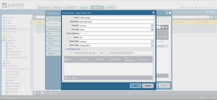 how-to-configure-route-for-ipsec-vpn-in-palo-alto-firewall