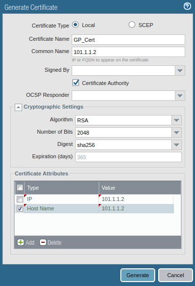 how-to-generate-self-sign-certificate-in-pa