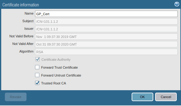 trusted-root-certificate-in-pa
