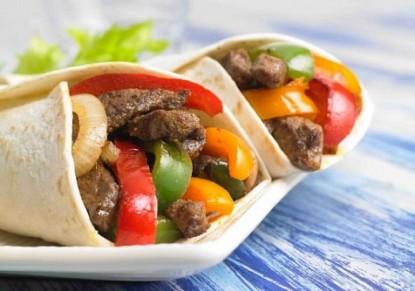 فاهيتا اللحم بالخضار