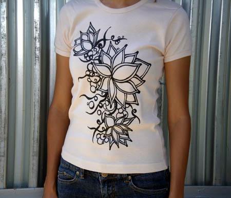 lotus-graphic-tshirt