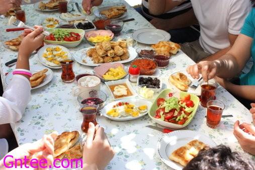 قائمة إفطار رمضان