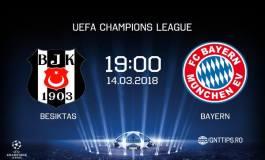 Ponturi fotbal - Besiktas - Bayern Munchen - UEFA Champions League - 14.03.2018