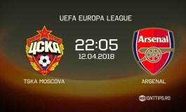 Ponturi fotbal -  TSKA Moscova - Arsenal - UEFA Europa League - 12.04.2018