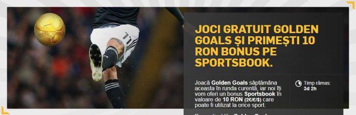 pronosticuri la Golden Goals