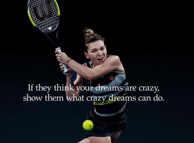 Simona Halep la Indian Wells 2019