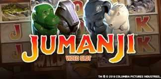 Luni 15 aprilie ai 20 Rotiri Bonus la Jumanji