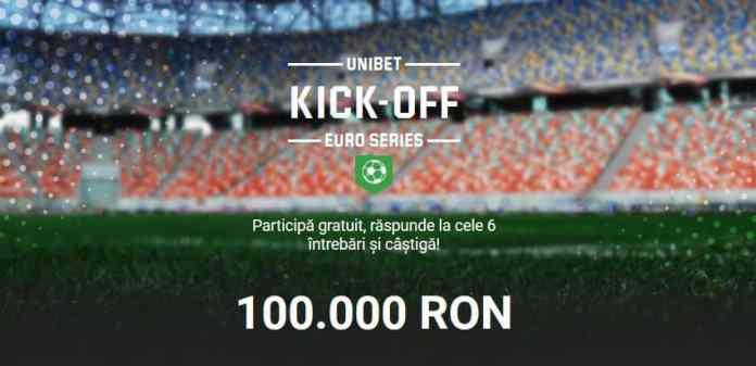 Raspunde corect la 6 intrebari pentru 100.000 RON - promotie EURO 2020 la pariuri