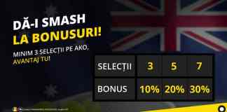Bonusuri la pariuri pe Australian Open 2020