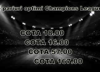 Bilete pariuri optimi Champions League 2020